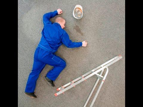Падение строителя,быть или не быть 18+