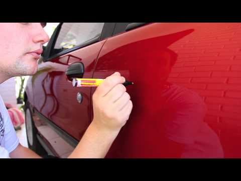 Como tirar arranhões do seu carro com U$ 1.00 FIX IT! PRO    how to remove deep scratch from car