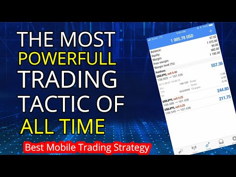 Best Scalping Strategy for Mobile | Forex Trading Strategies | MT4 Mobile Strategy