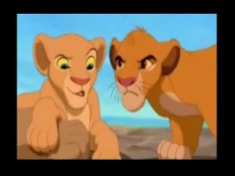 Young Simba & nala - Bath time *Dub* - YouTube
