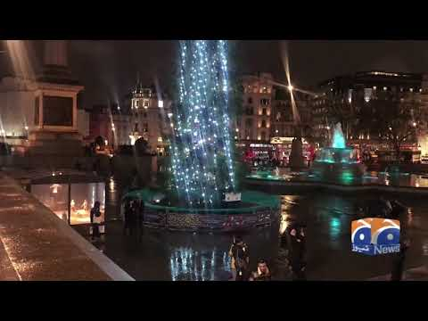 Geo News Special – Christmas Shopping In Full Swing In London