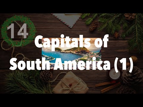 Capital Cities of South America (1) - Daily December 14