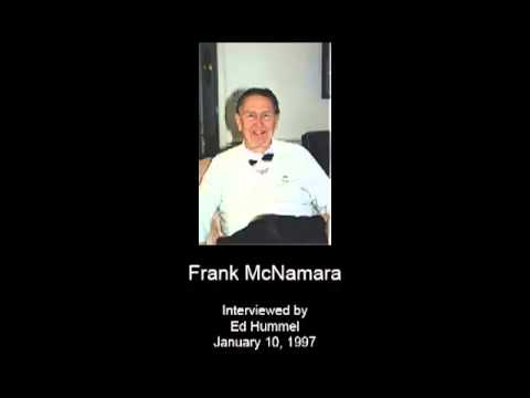 McNamara, Frank - Oral History Interview - CSWA