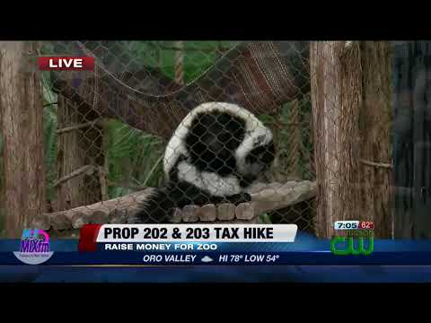 Tax hike to improve Reid Park Zoo