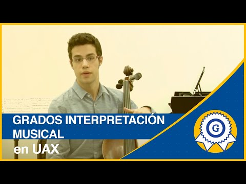 Grado en Interpretación Musical UAX