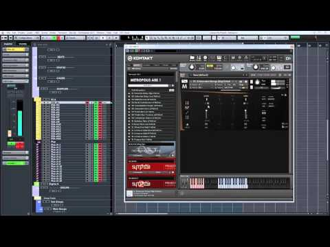 Orchestral Tools Metropolis Ark 1 Walkthrough part 1 - The Orchestra