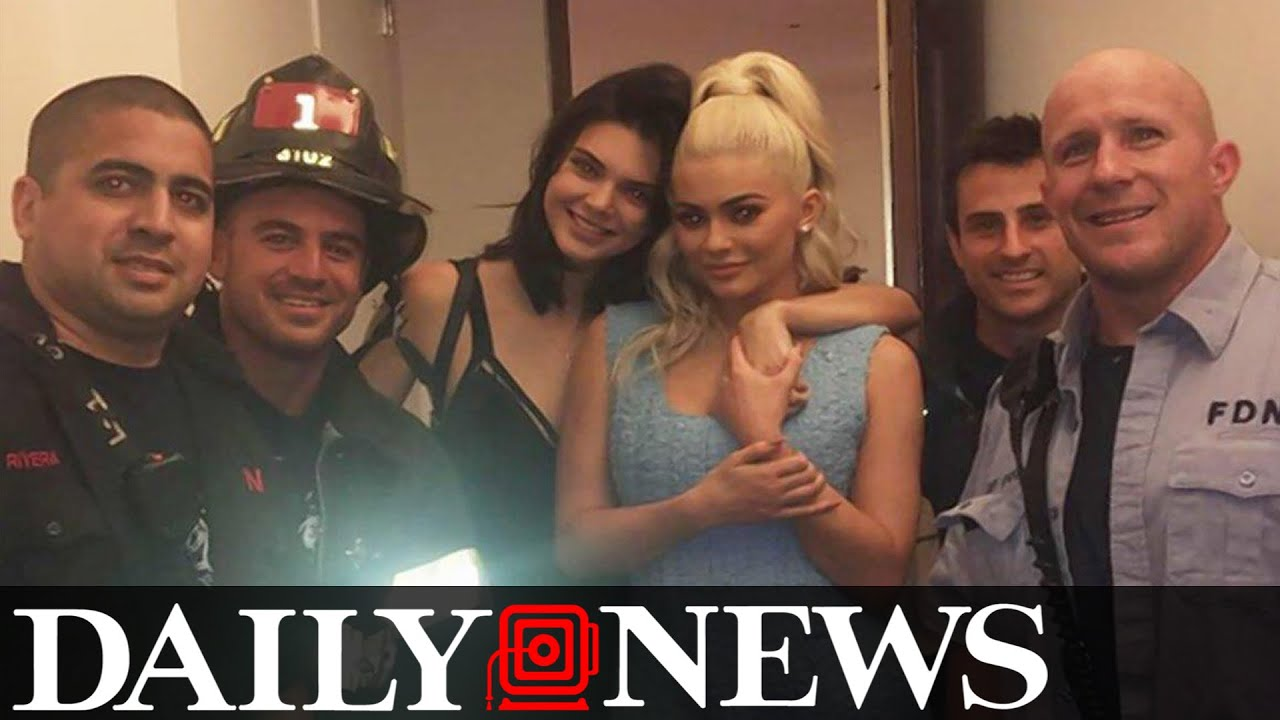 Kylie and Kendall Jenner Rescued By FDNY After Getting Trapped In An Elevator