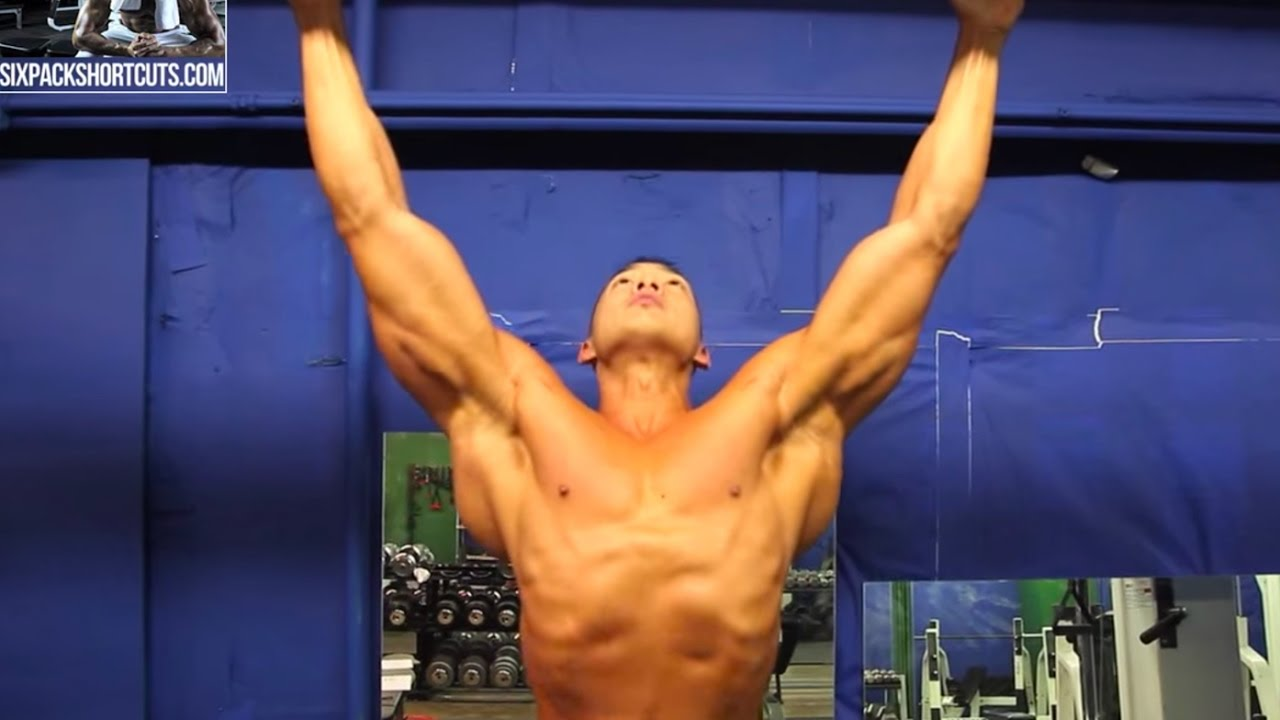 How to build a v taper like arnold youtube how to build a v taper like arnold malvernweather Image collections