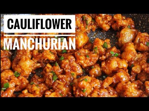 Cauliflower Manchurian Recipe Vegan|| Gobi Manchurian recipe