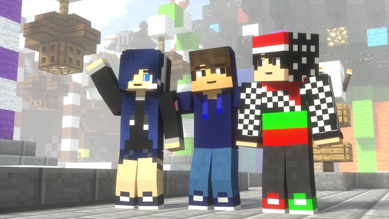 Newbie's Chrismas (Minecraft Animation)