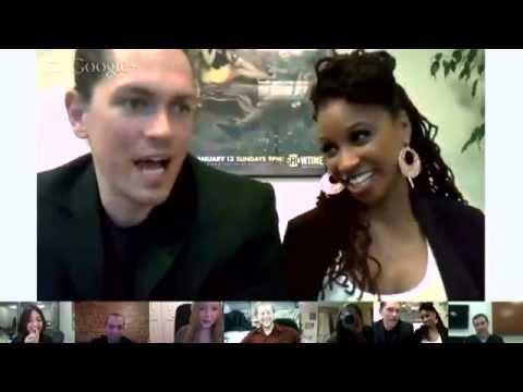 Shameless Season 3: Google Hangout  Steve Howey and Shanola Hampton