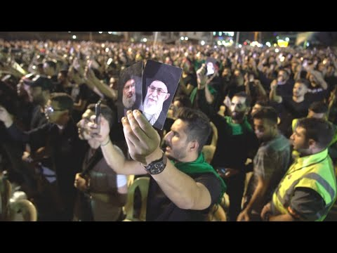 Video: Hezbollah supporters celebrate Ashura in Beirut
