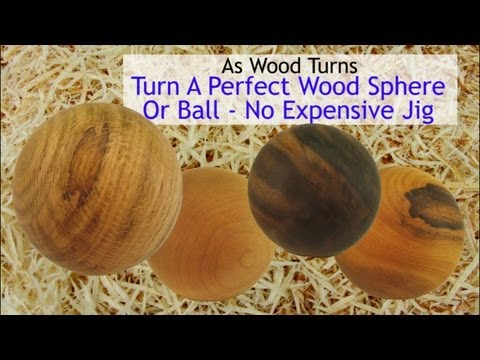 how to make a wooden ball with a router