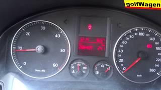 VW Golf 5 P242d fault DPF exhaust temperature sensor location /