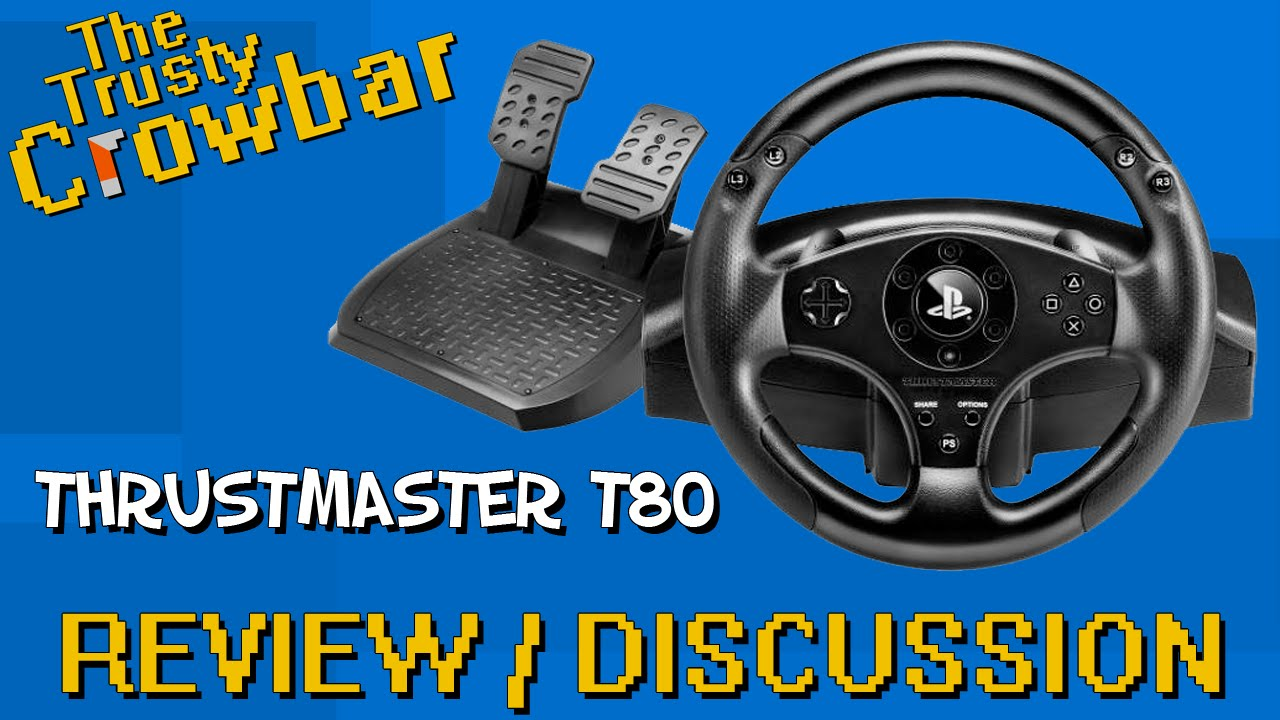 Thrustmaster T80 Racing Wheel | REVIEW / DISCUSSION - works with Project  Cars PS4