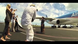 Air Tahiti Nui Making-Of Inflight & Air Crew Photo Shoot