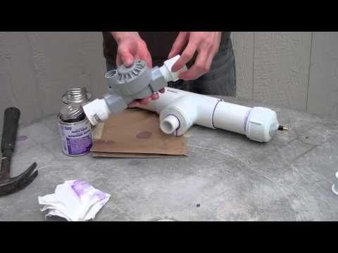 How to make a PVC Rocket Launcher - Engineering projects for kids