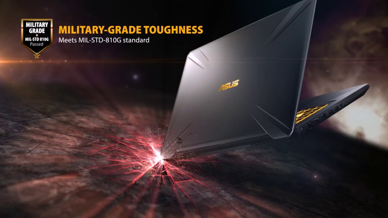 ASUS #TUF Gaming FX705 - Unbounded Design, Unrivaled Toughness