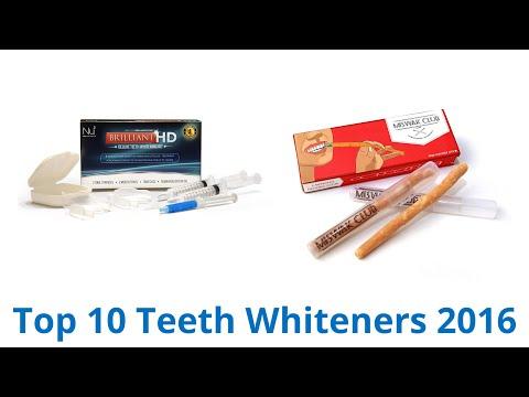 10 Best Teeth Whiteners 2016
