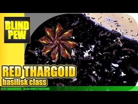 Elite Dangerous - Red Thargoid (Basilisk)