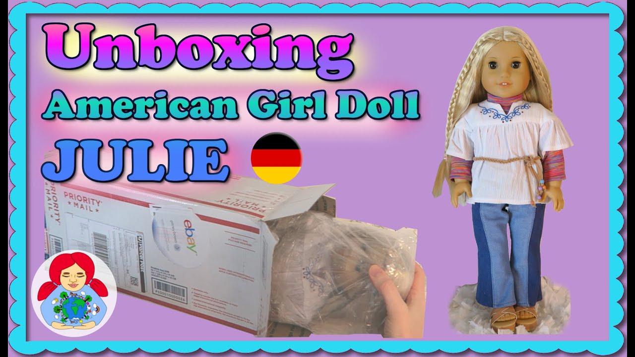UNBOXING American Girl Puppe JULIE • Habe ich ein Puppenkaufproblem ...
