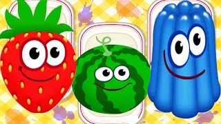 Baby Learning Colors Games - Baby Learn Letter, Number, Puzzles With Food | Educational Kids Game