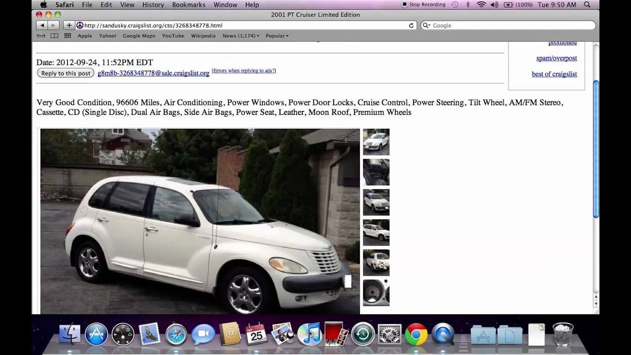 Craigslist sandusky ohio private used cars for sale by owner under 2000 in 2012 youtube