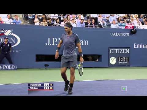 Robredo Nadal US Open 2013 QF HD