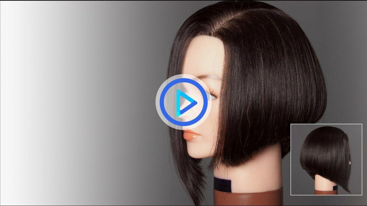 How To Cut A Bob Haircut Graduated Bob Preview 114 Youtube
