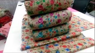 Camrick Cotton Printed Fabric | textile market surat | होलसेल कपड़ा मार्केट सूरत | Part -2