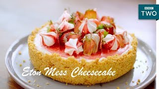 Eton Mess Cheesecake | Nadiya