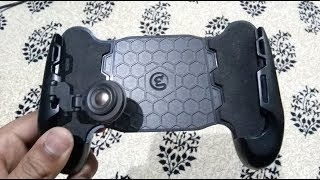 490) Gamesir F1 joystick grip gamepad unboxing (aliexpress)