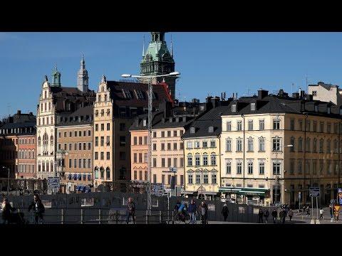 Stockholm Slussen Gamla Stan 170319 UHD 4K