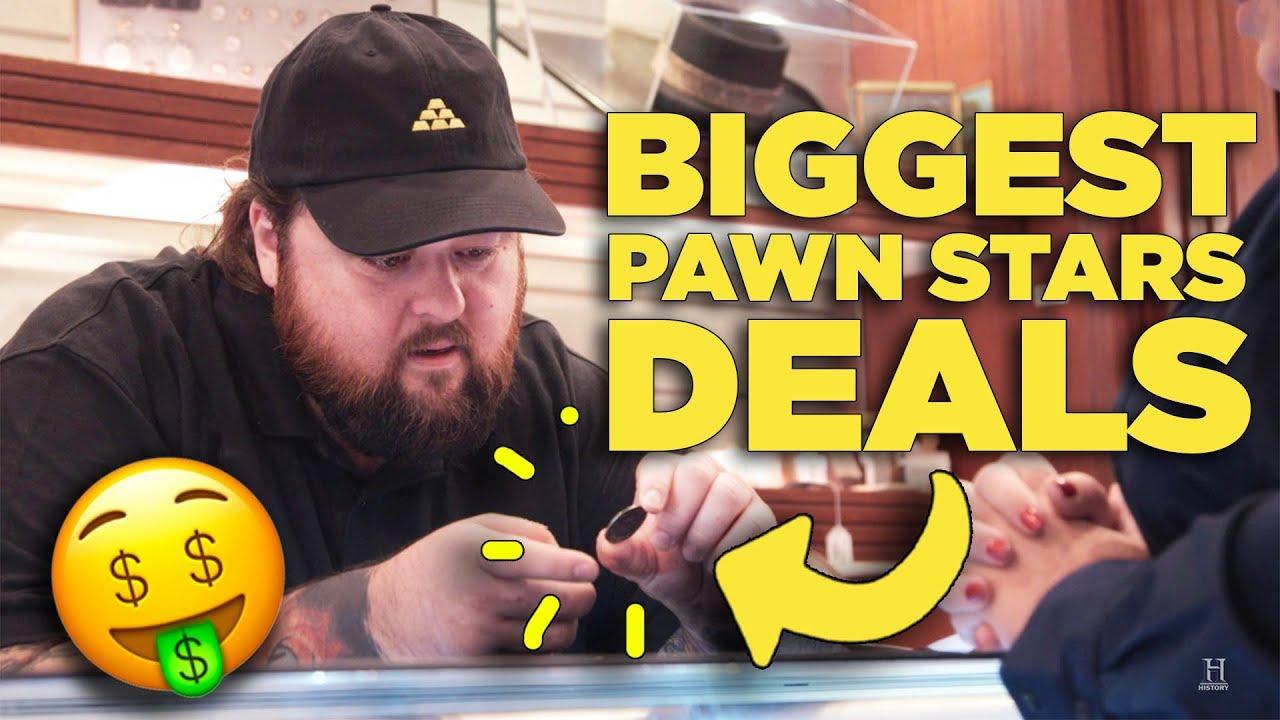 biggest deals on pawn stars