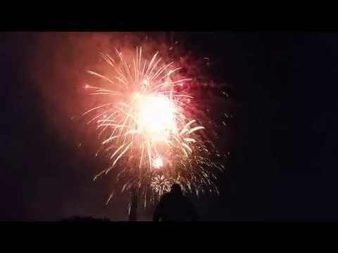 """Lights in Flight"" Fireworks Display Dayton, Ohio 7/2/2015"