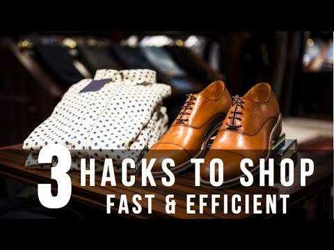 3 HACKS TO SHOP FAST | HOW TO SHOP FAST & EFFICIENT |The StyleJumper