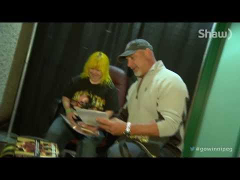 C4 Canadian Comic Con 2013: Rhonda Meets Goldberg!!!