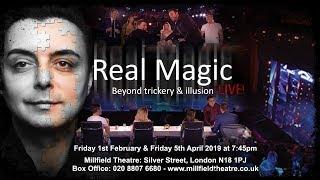 Real Magic Marc Spelmann Theatre Show