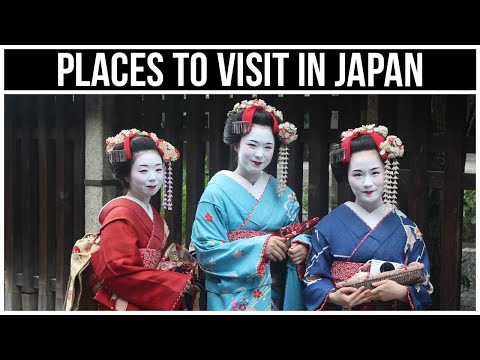10 Best Places To Visit In Japan - Travel Video