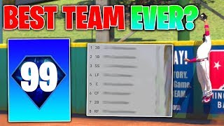 THE BEST TEAM EVER DRAFTED MLB The Show 19 Battle Royale Draft and Gameplay