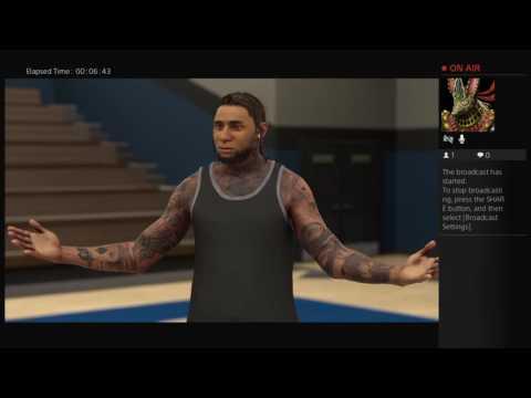NBA 2k17 My Carrer Shawn Harris