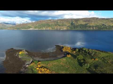 Scotland - Lochcarron - Slumbay Island
