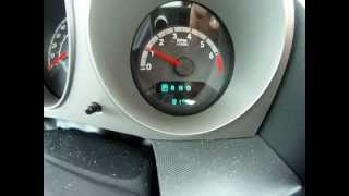 How to turn off the change oil light on a 2010 Dodge Avenger