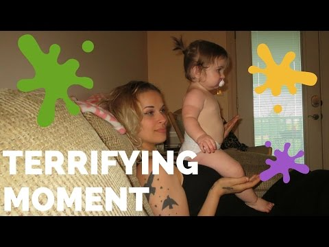 Terrifying House Cleaning Moment || Daily Vlog || July 26 2016