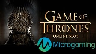 Game of Thrones Online Slot from Microgaming(Game of Thrones review and offers: http://online.casinocity.com/slots/game/game-of-thrones/ http://www.ThisWeekInGambling.com - Online slot players rejoice, ..., 2015-03-10T20:11:10.000Z)