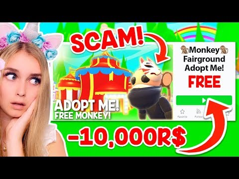 This FAKE Adopt Me Game Wants To STEAL ALL Your ROBUX.. (Roblox)