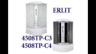 Обзор душевой кабины Erlit ER4508TP