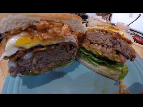 Cook the World Cup: Brazilian X-Tudo Burger