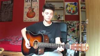 The Script-Superheroes (Acoustic Guitar Cover)