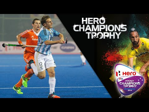 Netherlands v Argentina - Men's Hero Hockey Champions Trophy 2014 India Group  B [6/12/2014]